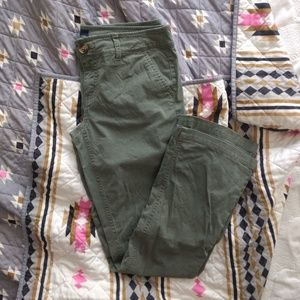 AE Green Kick Boot Pant